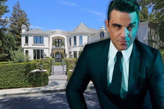 Robbie Williams' Beverly Hills Mansion