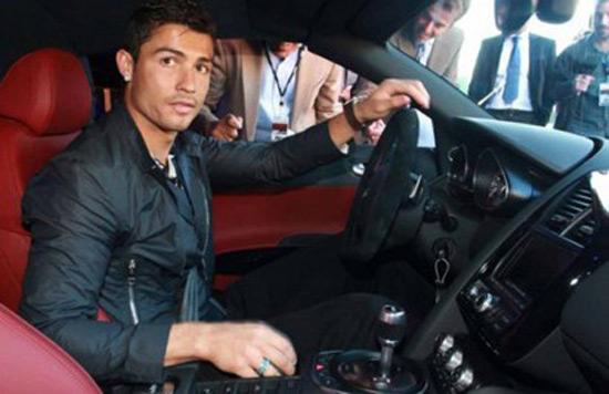 Ronaldo's Bugatti