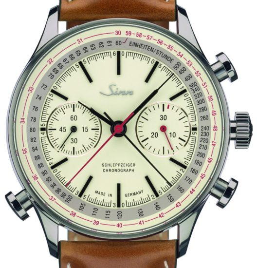 Sinn 910 Anniversary Split-Seconds Chronograph Watch