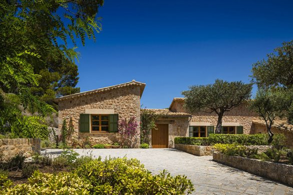 Sir Richard Branson's New Retreat On the Son Bunyola, Mallorca