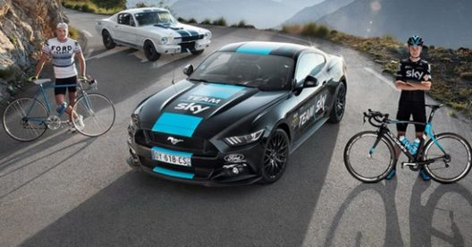 Sky Team Ford Mustang