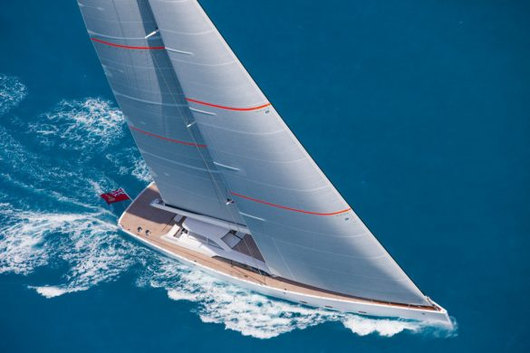 Unfurled - Stunning 46-Meter Sailing Yacht