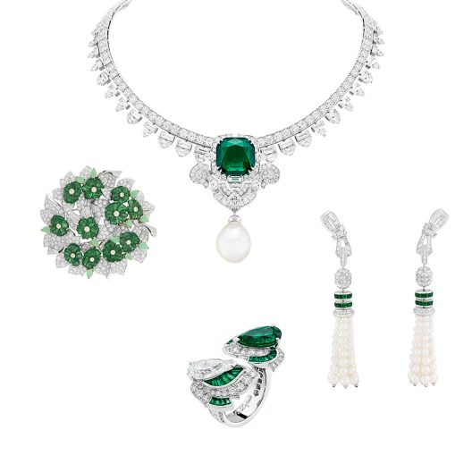 Van Cleef & Arpels' Emeraude en Majesté Collection