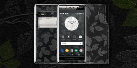 Aster Leaf - Vertu's New Expression Of Timeless Elegance