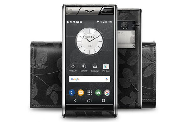 Aster Leaf - Vertu's New Expression Of Timeless Elegance