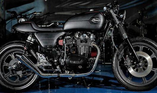 Yamaha XS650 Cafe-Racer