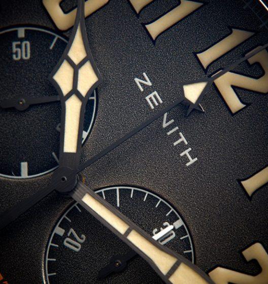 Zenith Heritage Pilot Café Racer Spirit
