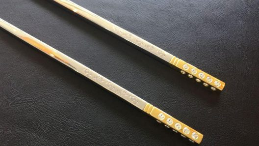Pay $2 Million For Dinner And Take Home $17,000 Chopsticks