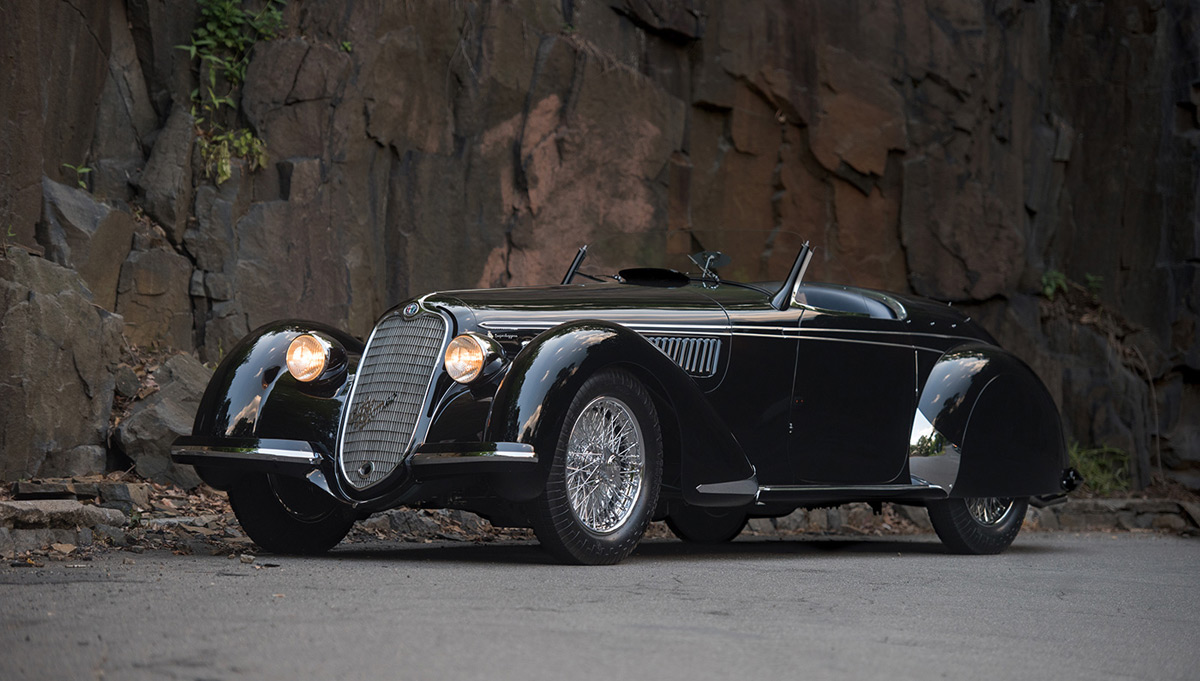 Rare 1939 Alfa Romeo Set To Break Auction Record