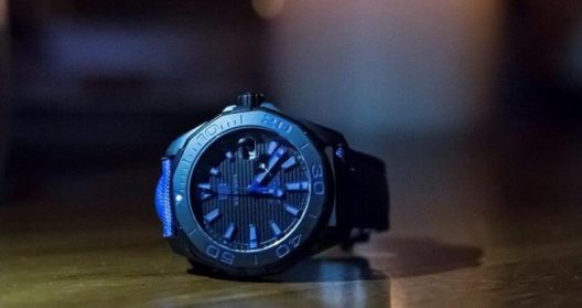 Tag Heuer's New Titanium Blue, Sand and Red Aquaracer 300m