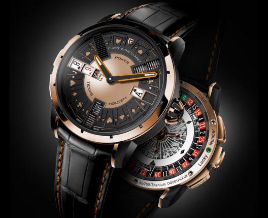 Christophe Claret Poker Watch