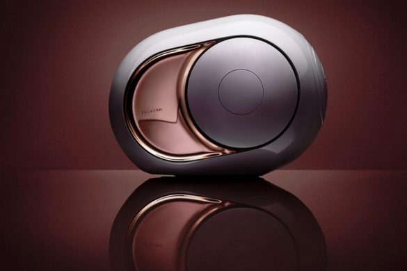 Devialet's Phantom Gold Speaker Makes Noise With Its 4,500 Watts of Power