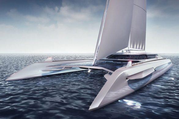 Eco Catamaran Concept by Rene Gabrielli