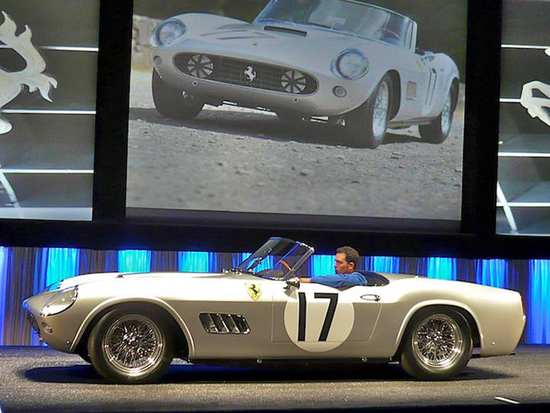 Ferrari 250 LWB California Spider Competizione Sold For $18,5 Million