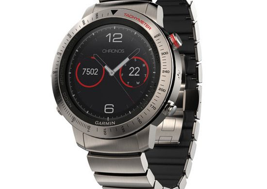 Garmin's New fenix Chronos GPS Watch
