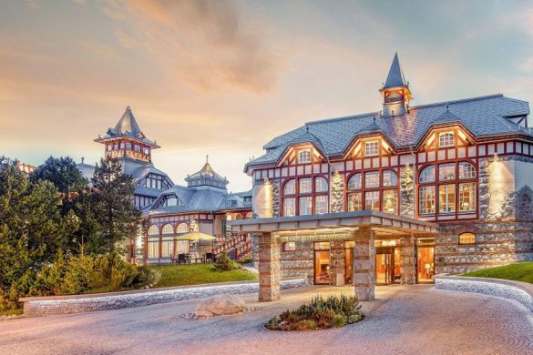 Remarkable European Flair in Grand Hotel Kempinski High Tatras
