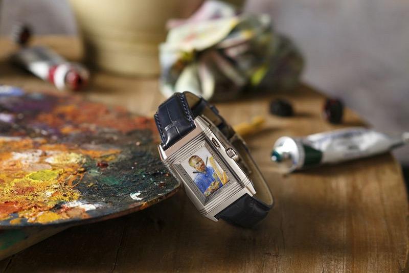 Tribute To Van Gogh: Jaeger-LeCoultre Reverso à Eclipse Watch