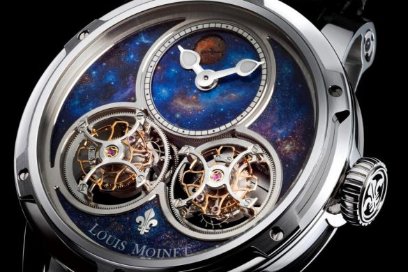 Sideralis - New Louis Moinet Inverted Double Tourbillon
