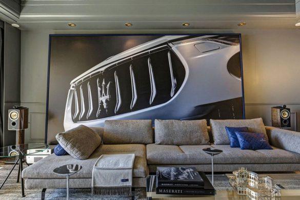 Maserati Pop-Up Suite at Hotel de Paris Monaco