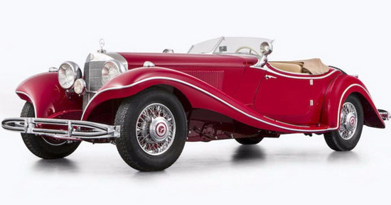 Mercedes 500K Special Roadster Could Fetch €7 Million At Auction