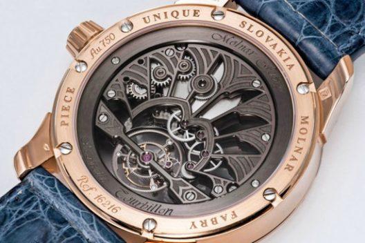 Molnar Fabry Majestic Tourbillon Piece Unique Watch