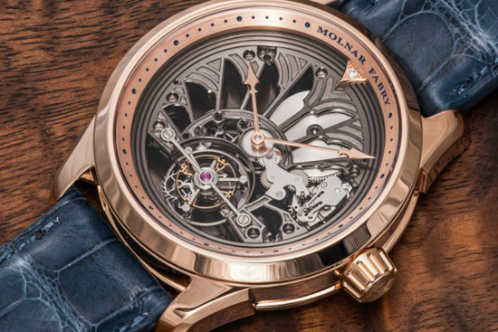 Molnar Fabry Majestic Tourbillon Piece Unique Watch