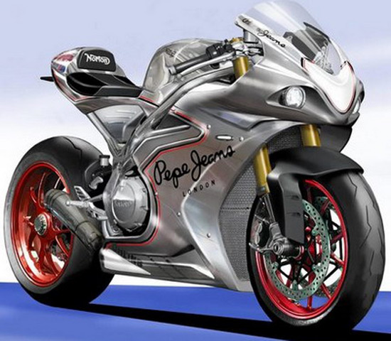 Norton Superbike With 200 hp Coming This Fall