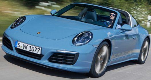 Porsche Exclusive 911 Targa 4S Design Edition