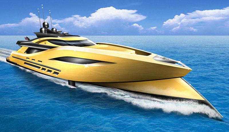 Settantanove Concept Superyacht by Matthew Bacon