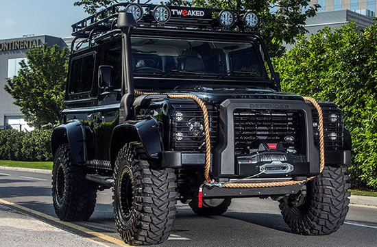 Tweaked Automotive Land Rover Defender