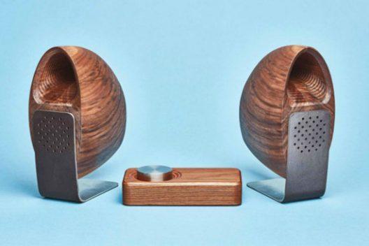 Grovemade Wooden Speakers