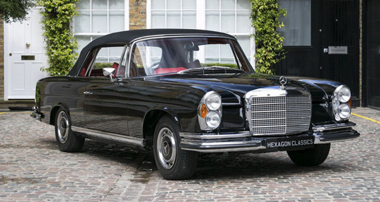 1970 Mercedes-Benz 280 SE 3.5 Cabriolet On Sale