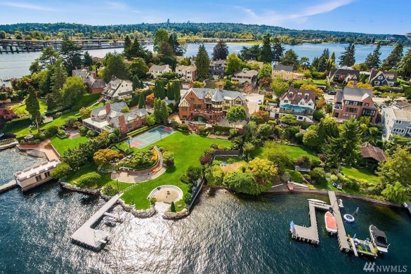 Lake Washington Waterfront Estate On Sale For $14.880 Million
