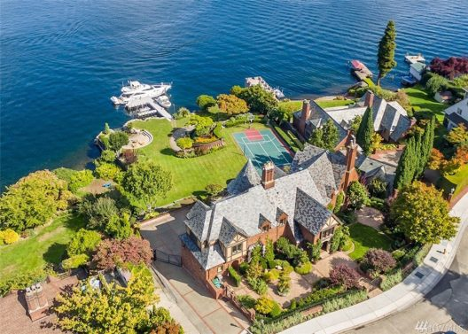 Lake Washington Waterfront Estate On Sale For $14.880 Million