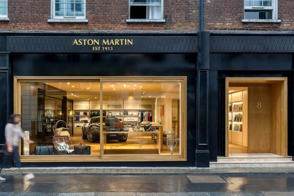 Aston Martin Opened Its Very First Brand Experience Boutique