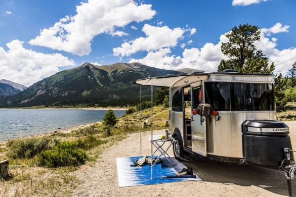 Basecamp - Airstream's New Miniature Silver Trailer