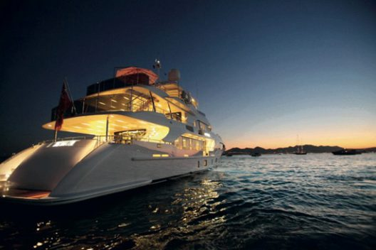 Benetti Teamed Up With Kiton