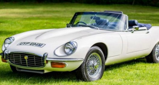 Jaguar Owned By Legendary Boycie From Only Fools and Horses