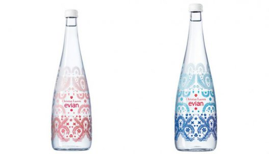 Christian Lacroix and Evian Celebrate 10th Anniversary Of Designer Bottles