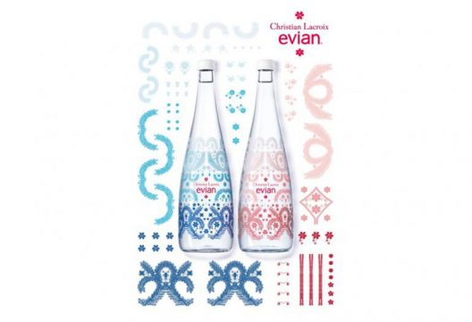 Christian lacroix and evian celebrate 10th anniversary of designer bottles - Evian christian lacroix ...