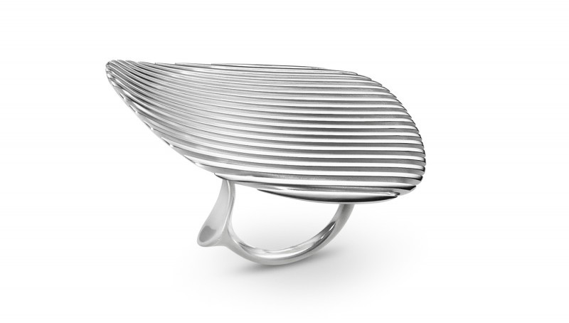 Georg Jensen's Jewelry Collaboration With The Late Zaha Hadid
