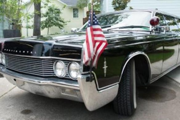 Henry Kissinger's Personal Lincoln Continental Limousine