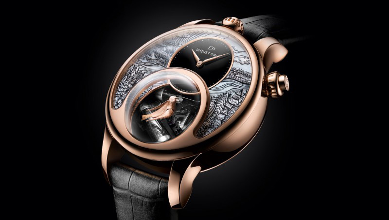 Two New Variations Of Jaquet Droz Charming Bird 2016