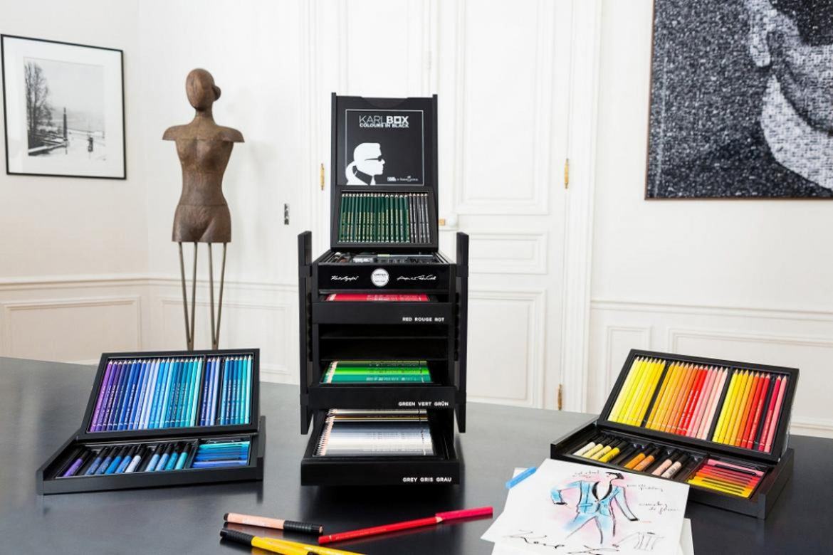 Karl Lagerfeld's Set of Faber-Castell Color Pencils Will Cost You $2,850