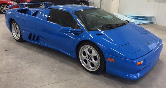 Lamborghini Diablo VT Roadster Owned By Donald Trump