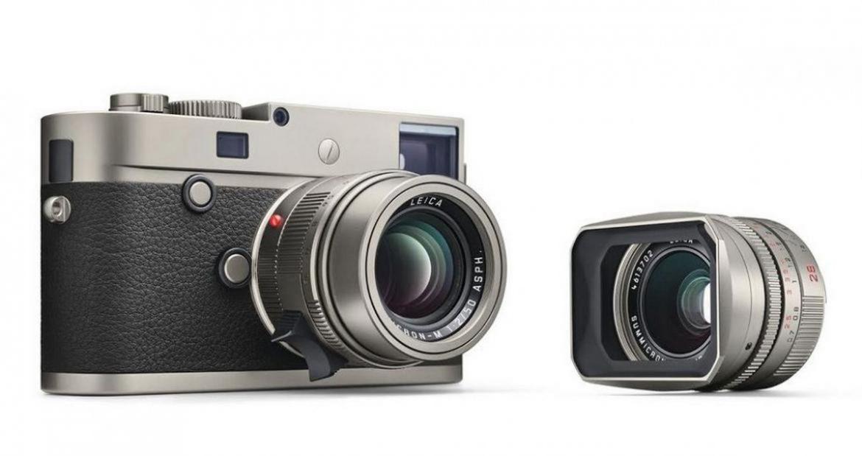 New Leica M-P Titanium Set Limited Edition