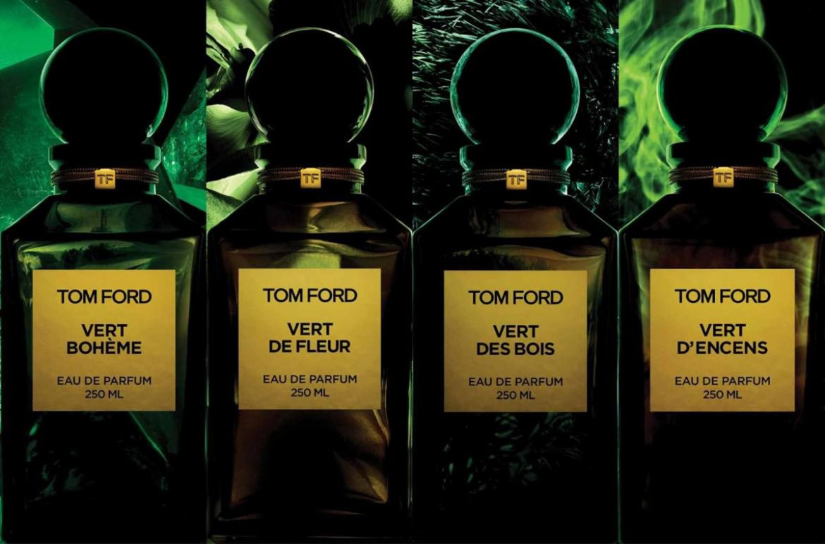 Les Extraits Vert - Tom Ford's New Range of Fragrances