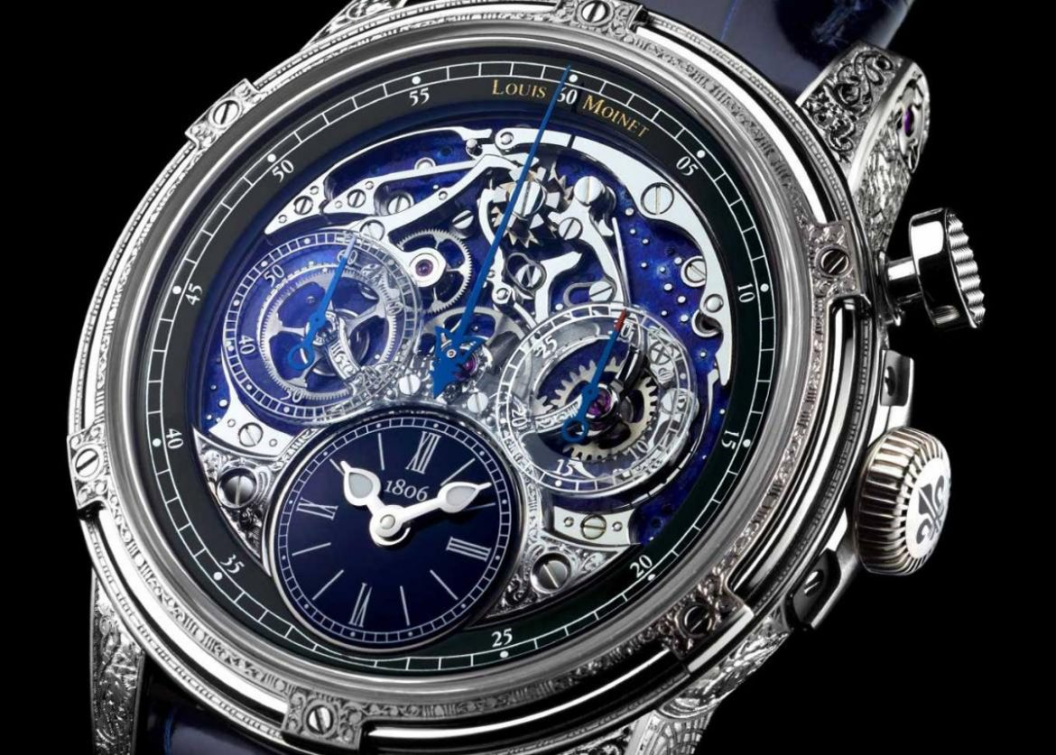 Louis Moinet's Memoris Red Eclipse - Limited Edition