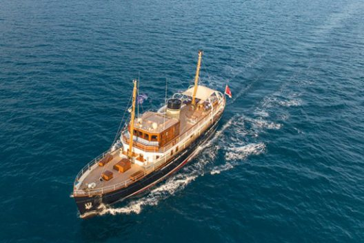 Taransay - Modern Recreation Of Traditional Gentleman's Motor Yacht For Charter