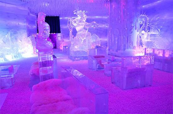 """Minus 11"""" Ice Café"""